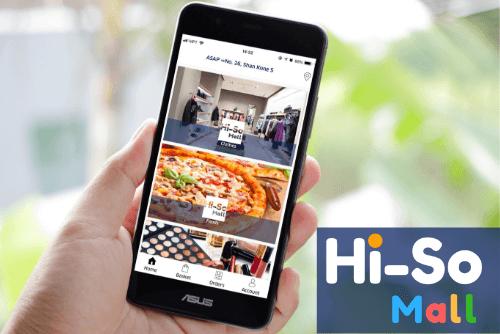 【プレスリリース配信】即時配達機能付きEC/フードデリバリー「Hi-So Mall」を10月1日より開始!